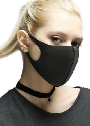 Многоразовая маска для лица из неопрена-дайвинга, защитная маска