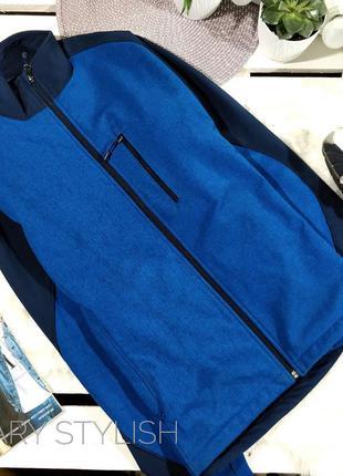 Мужская спортивная куртка для занятий спортом на флисе