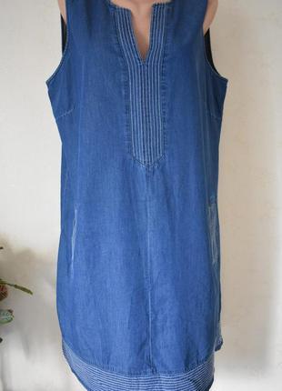 Джинсовое платье большого размера roman originals