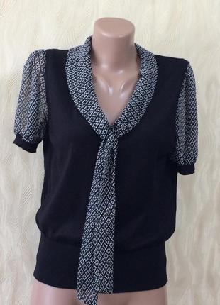 Блуза с бантом marks&spencer, р.12