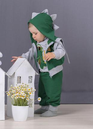 Трикотажный детский костюм на малыша