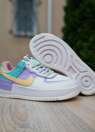 Кроссовки женские nike air force 1 low shadow pale ivory