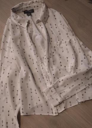 Рубашка укороченная primark