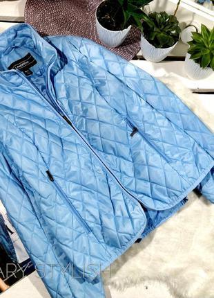 Голубая куртка легкая