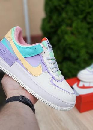Кроссовки nike air force 1 low shadow pale ivory