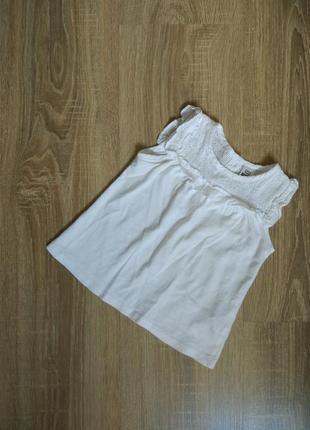 Платье с вышивкой от zara плаття сукня туника белая футболка н...