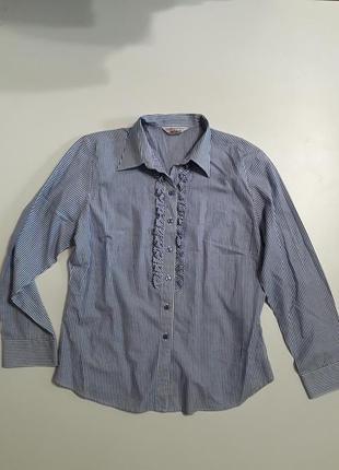 Фирменная рубашка блузка