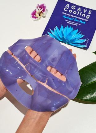 Гидрогелевая маска патчи с экстрактом агавы petitfee agave coo...
