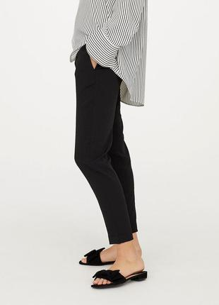 Креповые брюки h&m