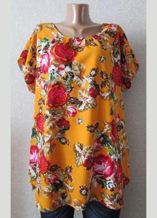 Нарядная туника платье миранда, большой размер!