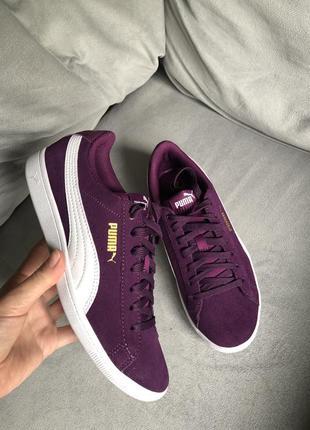 Новые кроссовки puma vikky кожа, замша {оригинал}, nike, adidas