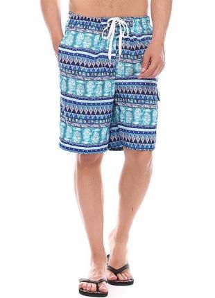 Яркие летние мужские шорты, пляжные шорты,небольшой нюанс см.ф...