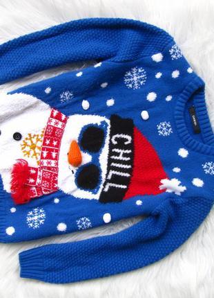 Стильная кофта свитер george новый год