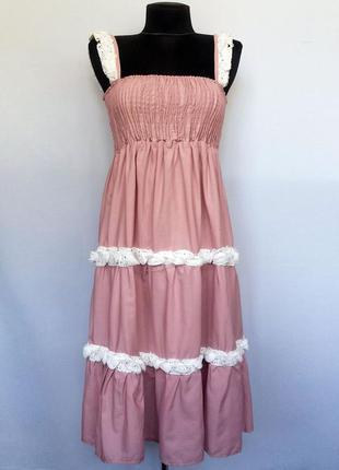 Суперцена. стильное платье сарафан. турция. новое, р-р 42-46