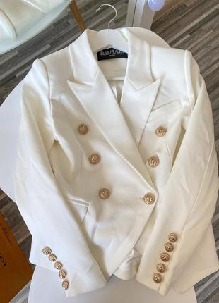 Брендовый пиджак lux