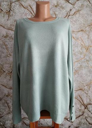 Новий   свитер оверсайз  пуловер большого размера primark