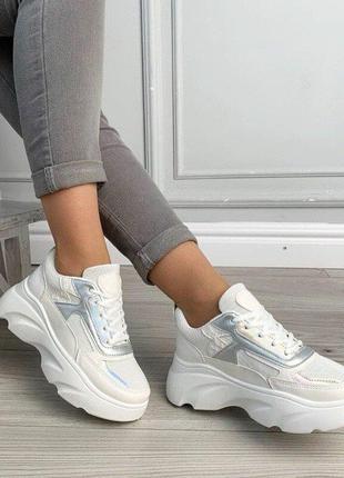Кроссовки женские на платформе