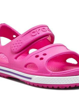 Crocband ii sandal neon purple