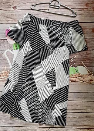 Стильное платье трапеция вискоза новое