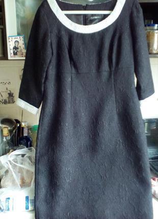 #teatro#стильное черное платье по фигуре #