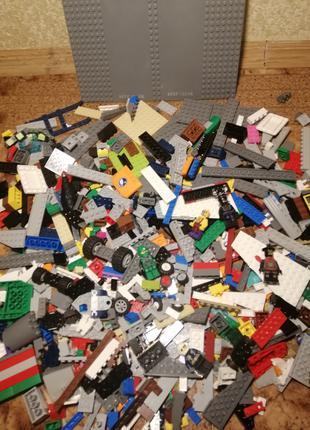 Конструктор лего, Lego, на вес,  россыпью
