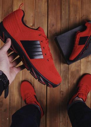 Крутые мужские кроссовки красные