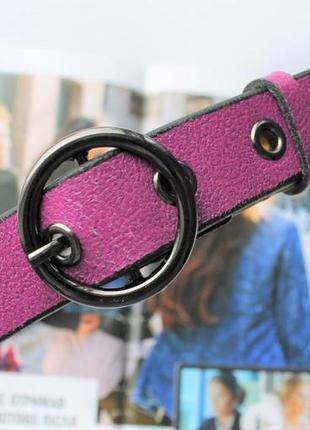 Женский трендовый ремень цвет фиолетовый