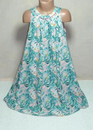 Нарядное платье m&s на 9-10 лет
