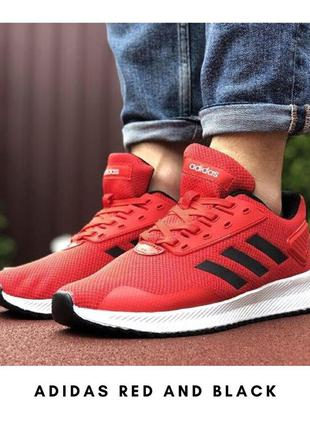Adidas Red and Black