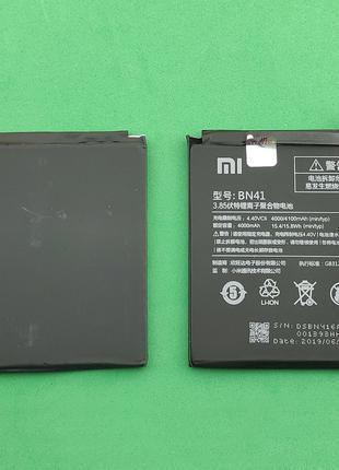 Аккумулятор, батарея, АКБ для Xiaomi Redmi Note 4,BN41 (4000 mAh)