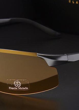 Мужские фотохромные очки Blanche Michelle 2020 для ночного видени