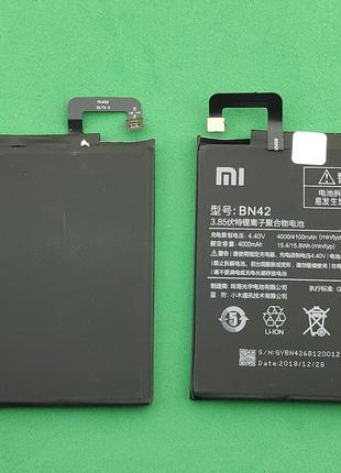 Аккумулятор, батарея для телефона Xiaomi Redmi 4, BN42 (4000 mAh)