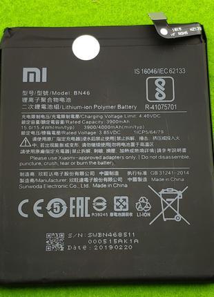 Аккумулятор, батарея,АКБ для Xiaomi Redmi Note 6, BN46 (4000 mAh)