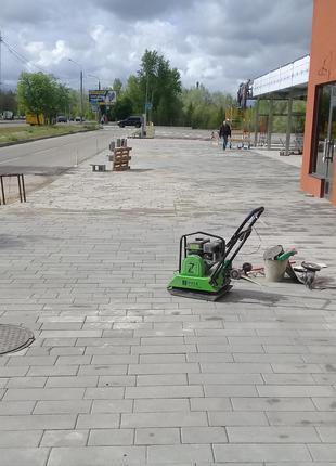 укладка плитки тротуарной (Сумы)