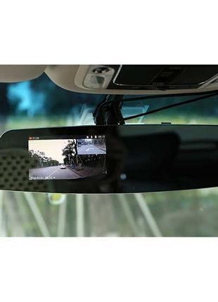 Видеорегистратор-зеркало с дополнительной камерой заднего вида