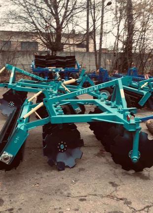 Борона дискова навісна СТЕП АГМ-2.2 під ЮМЗ МТЗ доставка завод