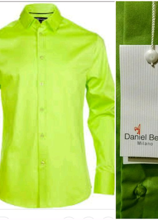 Мужская рубашка Daniel Bessi Milano. L (41/42)