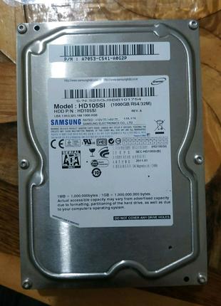 Винчестер вінчестер винт 1 tb Samsung жёсткий жорсткий диск