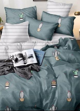 Комплект  постельного  белья «Кактус  в вазоне»