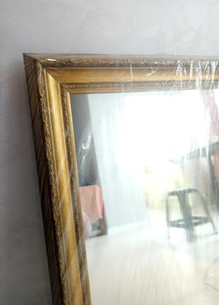 Новое зеркало в багете, настенное зеркало, зеркала