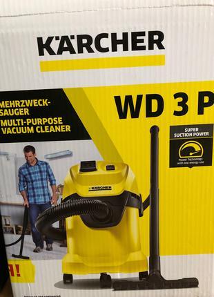 Пылесос Karcher WD 3 P