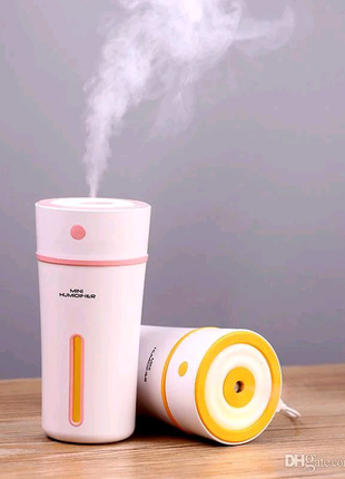 Ультразвуковой увлажнитель воздуха для дома авто ночник ароматиза