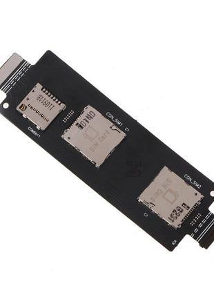 Разъем Sim-карты  Asus ZenFone 2  (ZE550CL/ZE550ML/ZE551ML)