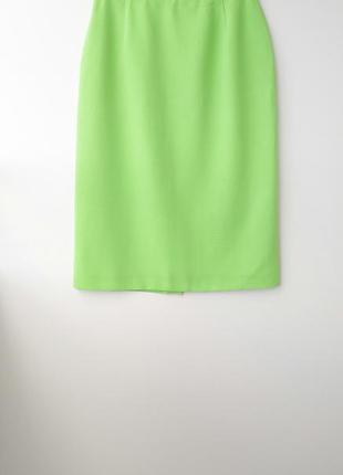 Зеленая юбка классическая юбка салатовая юбка класична спідниця