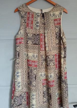 Стильное платье. принт. сарафан. большой размер . батал