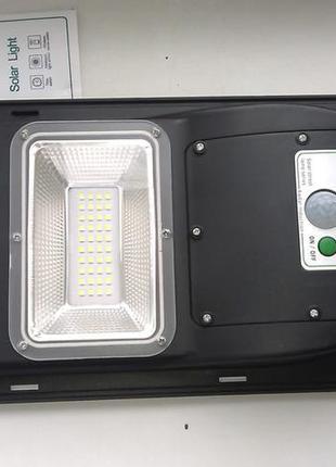 Автономный светодиодный светильник солнечных батареях, 40 ват