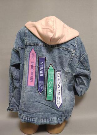 Курточка джинсоваяженская на 44-46 46-48 48-50