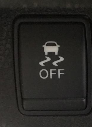 Кнопка антипробуксовочной системы Nissan Leaf 13-17