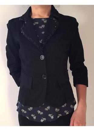 Пиджак, піджак чорний, черный пиджак, мода 2020.