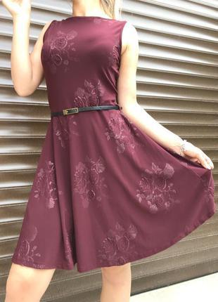 Стильное легкое платье на модницу+ ремень!